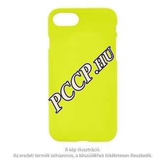 Apple Iphone 7 sárga neon szilikon hátlap