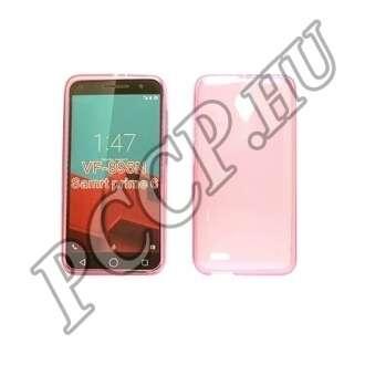 Alcatel 7044 Smart Prime pink vékony szilikon tok