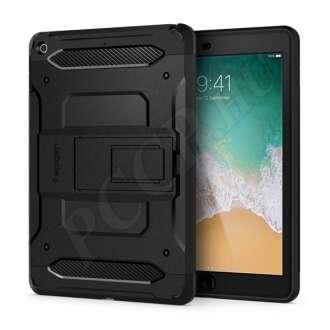 Apple iPad 9.7 (2018) fekete hátlap kijelzővédő fóliával