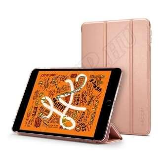 Apple iPad Mini 5 rozéarany oldalra nyíló tok