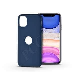 Apple Iphone 11 kék szilikon hátlap