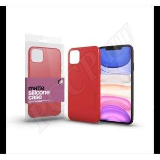Apple iPhone 11 Pro korallpiros ultravékony szilikon hátlap - Xprotector