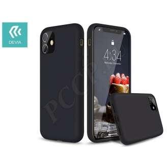 Apple Iphone 11 Pro Max fekete szilikon hátlap
