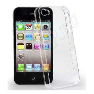 Apple iPhone 4S átlátszó ultravékony szilikon hátlap