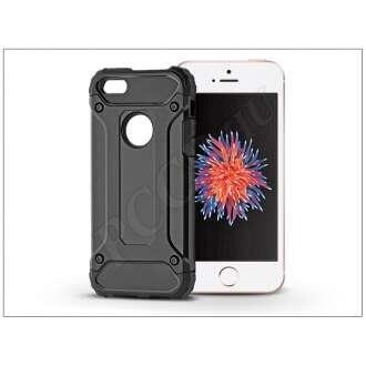 Apple Iphone 5 fekete ütésálló hátlap