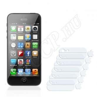 Apple iPhone 5 hátlap (üveg felületek logoval) kijelzővédő fólia