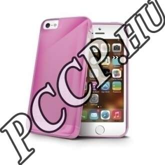 Apple Iphone 5 pink hátlap
