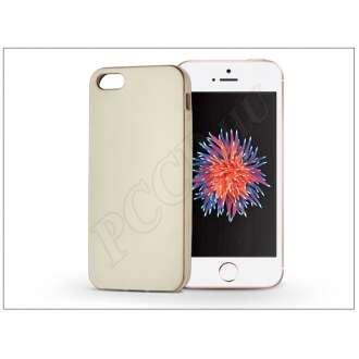 Apple Iphone 5 arany szilikon hátlap