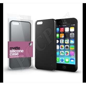Apple iPhone 5S fekete ultra vékony szilikon hátlap - Xprotector