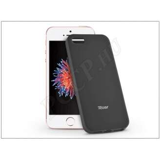 Apple Iphone 5S fekete szilikon hátlap