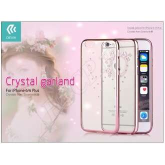 Apple Iphone 6 rosegold hátlap Swarovski kristállyal