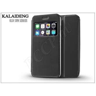 Apple Iphone 6 Plus fekete flipes tok