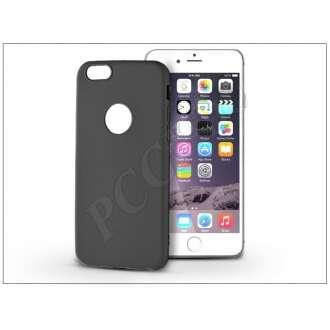 Apple Iphone 6 Plus fekete szilikon hátlap