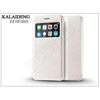 Apple Iphone 6 Plus fehér flip tok