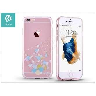 Apple Iphone 6 Plus kék hátlap kristállyal