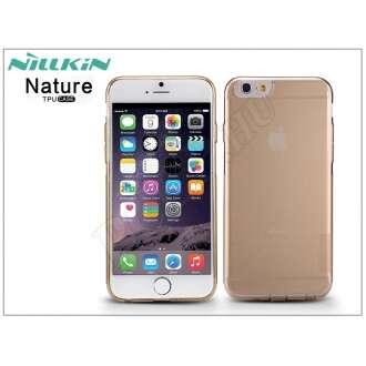 Apple Iphone 6 aranybarna szilikon hátlap