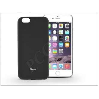 Apple Iphone 6 fekete szilikon hátlap