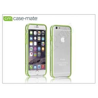 Apple Iphone 6 átlátszó/lime védőkeret