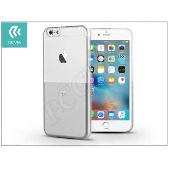 Apple Iphone 6S ezüst hátlap swarowski kristállyal