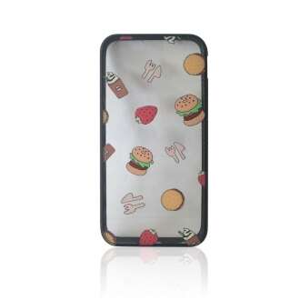 Apple iPhone 6S 'burger Overload' műanyag hátlap