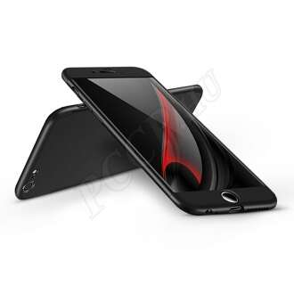 Apple Iphone 6S fekete három részből álló védőtok