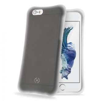 Apple iPhone 6S fekete ütésálló szilikon hátlap
