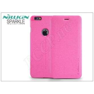 Apple Iphone 6S pink oldalra nyíló flip tok