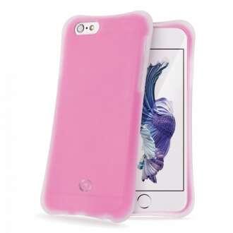 Apple iPhone 6S pink ütésálló szilikon hátlap