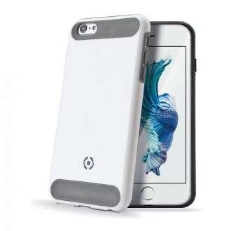 Apple iPhone 6S Plus fehér ütésálló szilikon hátlap