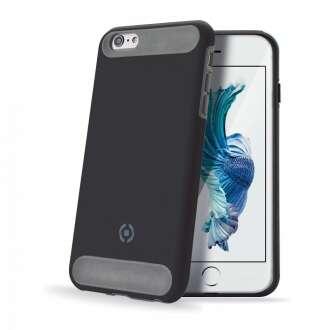 Apple iPhone 6S Plus fekete ütésálló szilikon hátlap