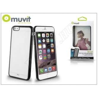 Apple Iphone 6S Plus fekete/átlátszó hátlap
