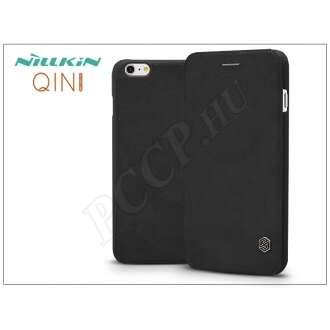 Apple Iphone 6S Plus fekete oldalra nyíló flip tok