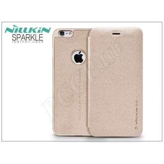 Apple Iphone 6S Plus arany oldalra nyíló flip tok