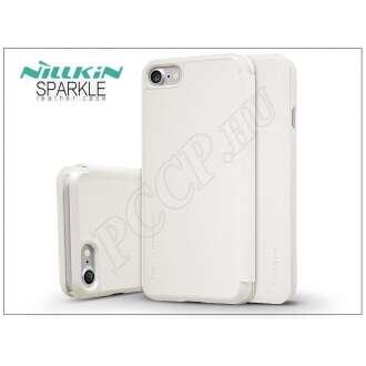 Apple Iphone 7 fehér oldalra nyíló flip tok