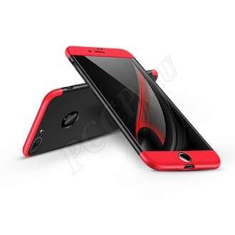 Apple Iphone 7 Plus fekete/piros három részből álló védőtok