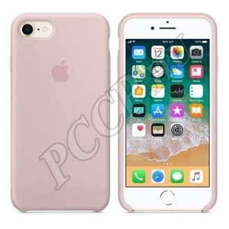Apple iPhone 7 rózsaszín gyári szilikon hátlap