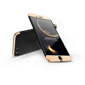 Apple Iphone 8 fekete/arany három részből álló védőtok