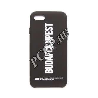 Apple Iphone 8 fekete design hátlap