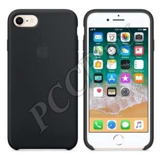 Apple iPhone 8 fekete gyári szilikon hátlap