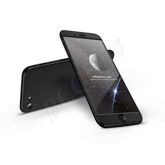 Apple Iphone 8 fekete három részből álló védőtok