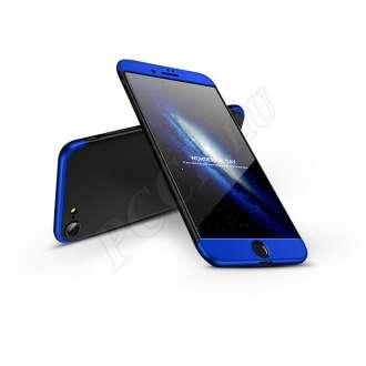 Apple Iphone 8 fekete/kék három részből álló védőtok