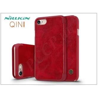 Apple Iphone 8 piros oldalra nyíló flip tok