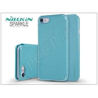 Apple Iphone 8 kék oldalra nyíló flip tok