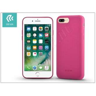 Apple Iphone 8 Plus pink szilikon hátlap