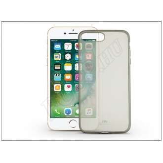 Apple Iphone 8 Plus fekete szilikon hátlap