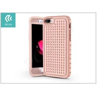 Apple Iphone 8 Plus pink ütésálló védõtok