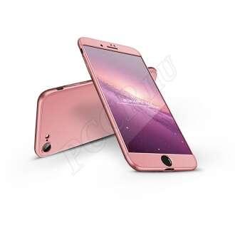 Apple Iphone 8 rosegold három részből álló védőtok