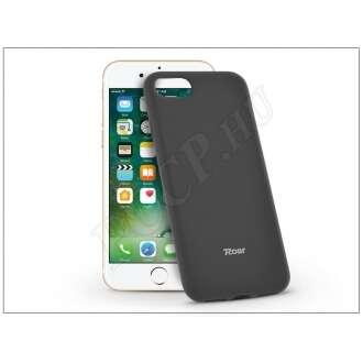 Apple Iphone 8 fekete szilikon hátlap