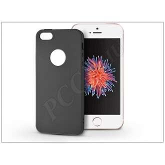 Apple Iphone SE fekete szilikon hátlap