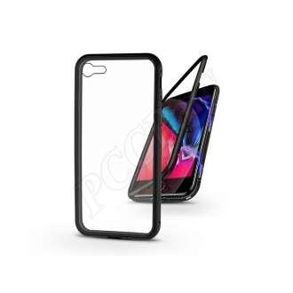 Apple Iphone SE (2020) fekete mágneses 2 részes hátlap előlapi üveg nélkül